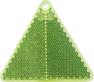 Heiastin kolmio 67x59mm vihreä