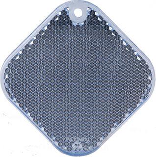 Heiastin neliö 63x63mm sininen