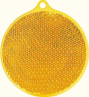 Heiastin pyöreä 55x61mm oranssi